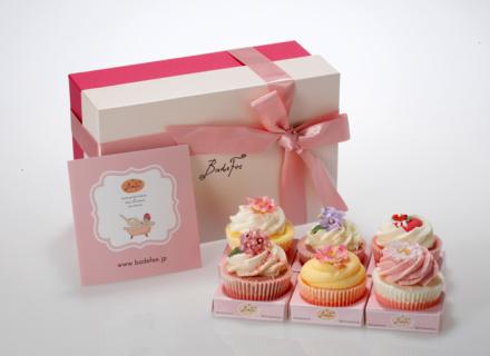 3月のプレゼントはお風呂で美しくバスカップケーキ♪Happy PRESENT