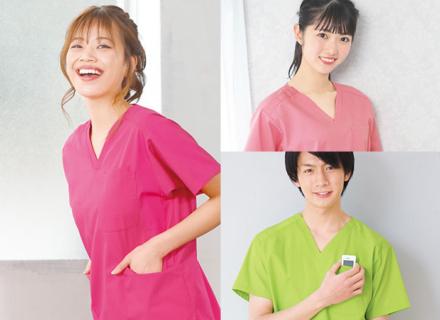動き回る看護師さんにおすすめ! 夏に着たいスクラブ白衣