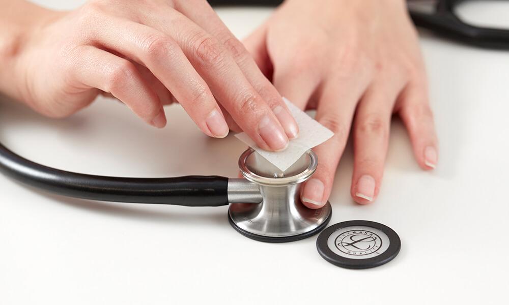 聴診器の洗浄