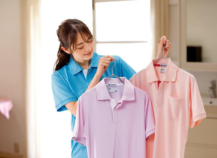 工業洗濯に対応ポロシャツ。お手頃価格でも安心品質